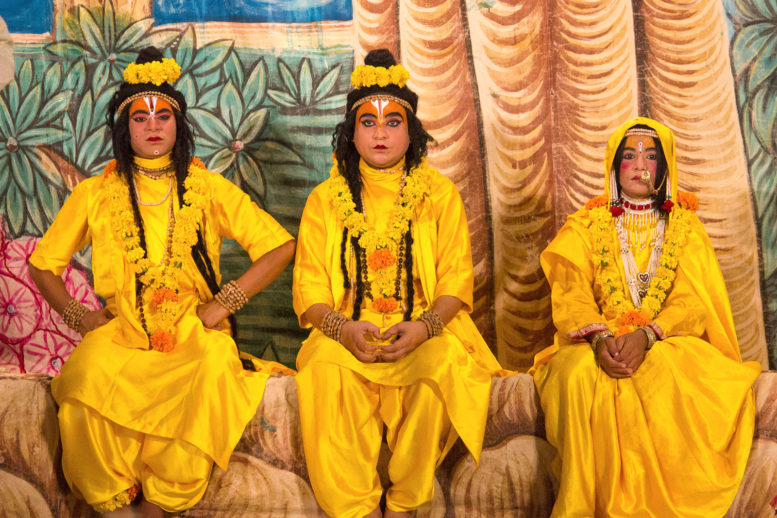 Actors playing role of Rama
